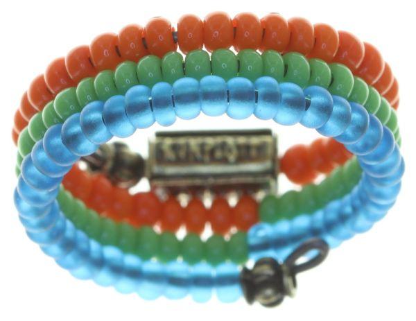 Konplott Massai Goes Fishing Ring in multi rainbow 5450543812380