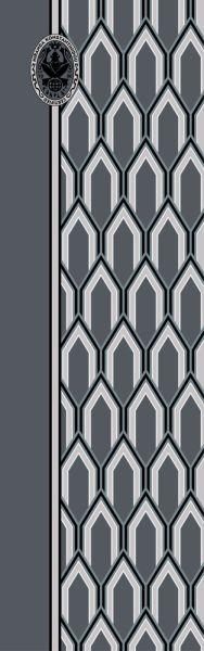 Konplott Schal Geometrisch 4 in blau 5450543806839