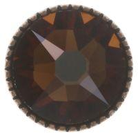 Vorschau: Konplott Black Jack Ohrstecker groß in braun/orange smoked topaz 5450543750446