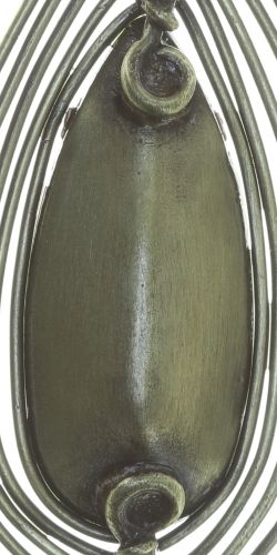 Konplott Amazonia Ohrhänger in beige, Größe M 5450543753577