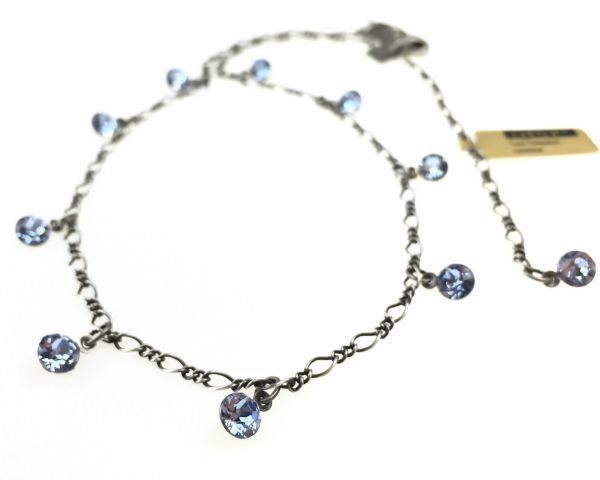 Konplott Tutui light sapphire Halskette steinbesetzt, hellblau 5450527274371
