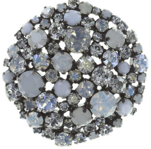 Konplott Ballroom Halskette mit Anhänger in weiß 5450543728421