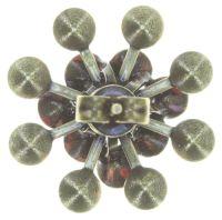Vorschau: Konplott Magic Fireball Ohrstecker klassisch in coralline 5450543765853
