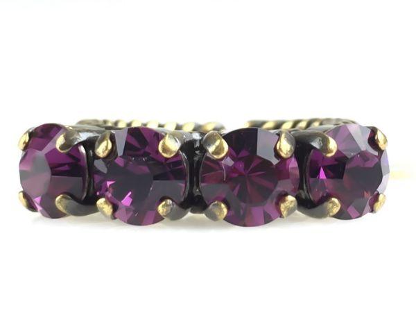 Konplott Colour Snake Ring in Amethyst, pink/lila 5450527217842