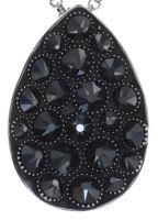 Vorschau: Konplott Tears of Joy Halskette mit Anhänger in schwarz jet hematite Größe L 5450543767475