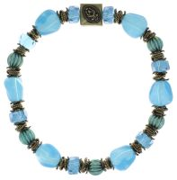 Konplott Tropical Candy Armband in mixed water blues 5450543799681