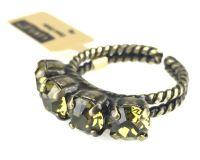 Vorschau: Konplott Colour Snake Ring in Khaki, hellgrün 5450527257060