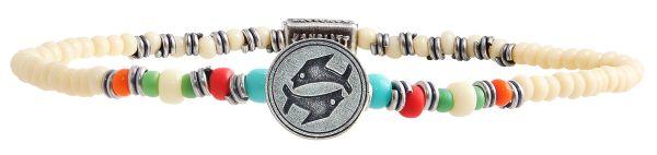 Zodiac multi Armband elastisch (Fische)