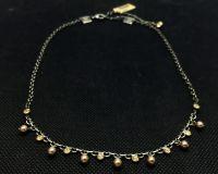 Vorschau: Konplott Pearl Shadow crystal golden shadow Halskette partiell steinbesetzt 5450527598705