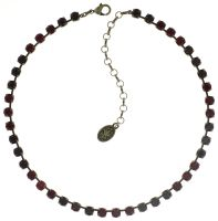 Vorschau: Konplott Colour Snake Halskette in dunkelrot 5450543666051