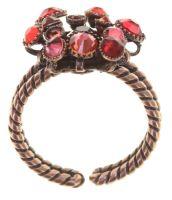 Konplott Alien Caviar Ring Forever Red 5450543891989