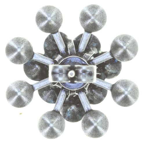 Konplott Magic Fireball Ohrstecker klassisch in blau 5450543765754