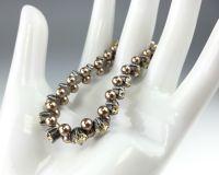Vorschau: Konplott Pearl Shadow crystal golden shadow Armband elastisch (M) 5450527598743