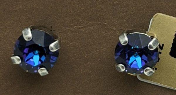 Konplott Black Jack Ohrstecker in blau/lila heliotrope 5450527696081
