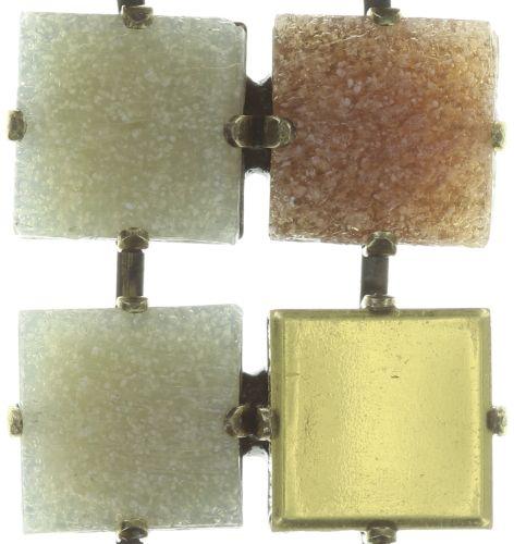 Konplott Cleo Halskette Y-Form in beige/weiß 5450543724713