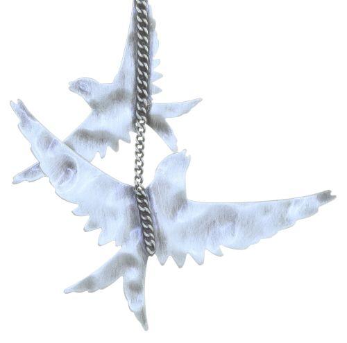 Konplott The Sparrow Ohrhänger Größe M,S in silber 5450543749693