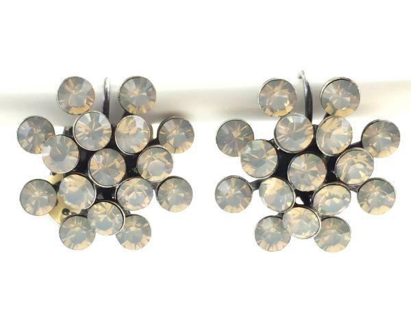 Konplott Magic Fireball Ohrhänger mit Klappverschluss in light grey opal 5450527767385