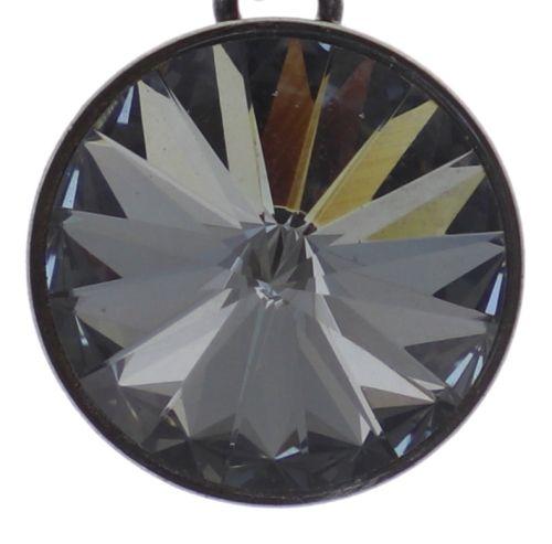 Konplott Rivoli Halskette in grau crystal night fall 5450543783017