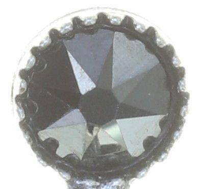 Konplott Tears of Joy Ohrstecker in schwarz jet hematite Größe M 5450543763224