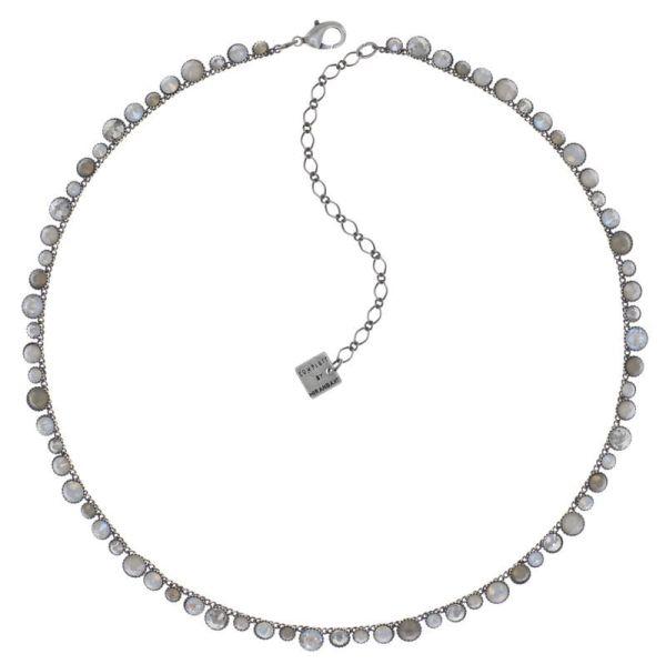 Konplott Water Cascade Halskette Stone White 5450543882437