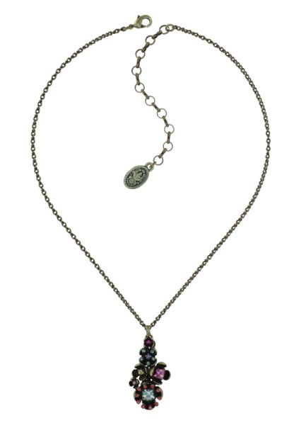 Konplott Halskette in multi - Where the Lilac Bloom 5450543884721