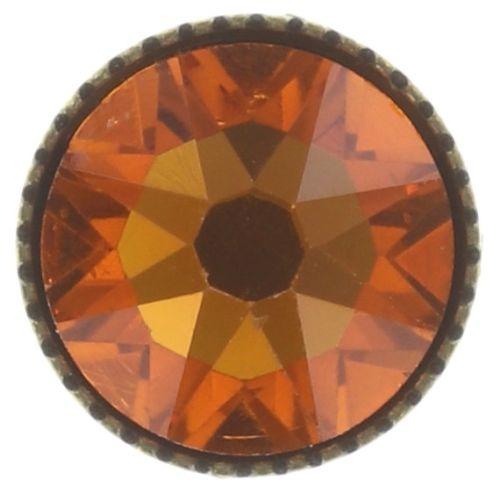 Konplott Black Jack Ohrstecker klassisch in orange tangerine 5450543703398