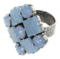 Vorschau: Konplott Cleo Ring Baby Blue Sky 5450543911984