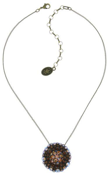 Konplott Inside Out Halskette mit Anhänger Größe L in braun 5450543638492