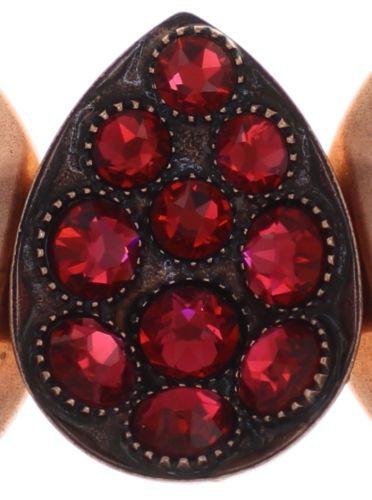 Konplott Tears of Joy Armband in coralline scarlet rot Größe M 5450543763583