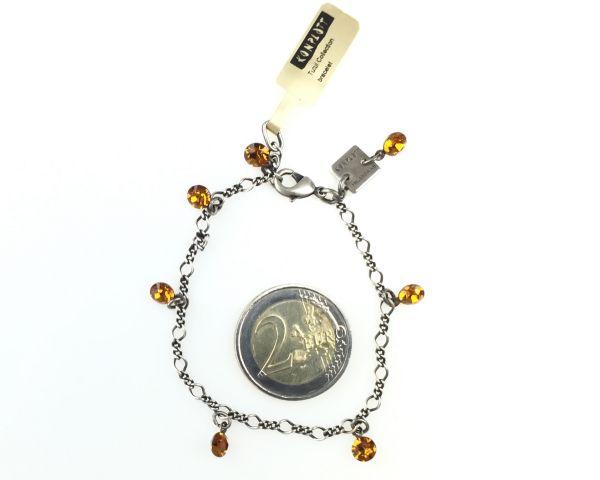 Konplott Tutui topaz Armband verschließbar, gelb/braun 5450527641340
