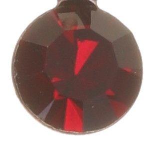Konplott Dancing Star Halskette mit Anhänger in rot Größe XS 5450543774527