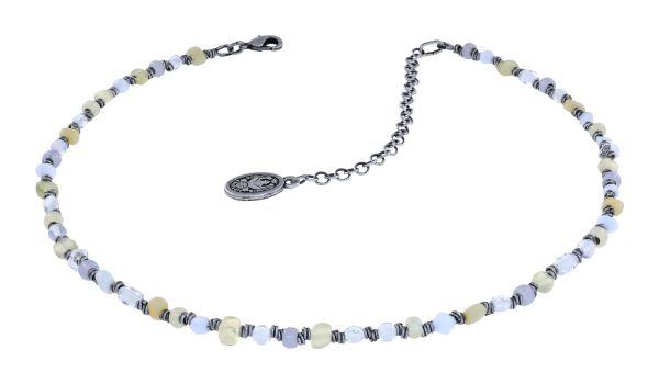 Konplott Petit Glamour d'Afrique Halskette in weiß 5450543914053