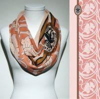 Konplott Schal Floral 2 in rosa 5450543806808
