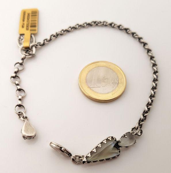 Konplott Snow White Armband in weiß Größe S 5450543755939