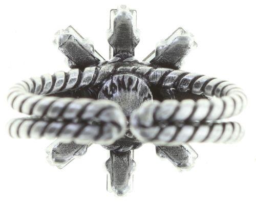 Konplott Spider Daisy Ring in pastel multi Größe S 5450543736617
