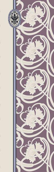Konplott Schal Floral 15 in braun 5450543807072