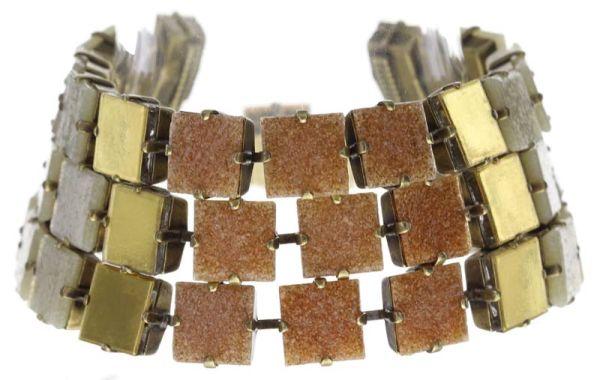 Konplott Cleo Armband in beige/weiß 5450543715391