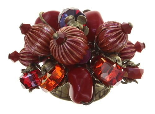 Konplott Tropical Candy Ring - Blut-Rot 5450543810195