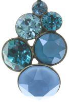 Vorschau: Konplott Petit Glamour Halskette mit Anhänger in blau/grün 5450543728261
