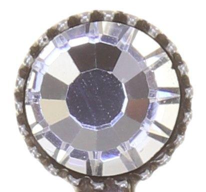 Konplott Global Glam Ohrringe hängend in crystal weiß 5450543861166