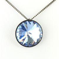 Vorschau: Konplott Rivoli light sapphire Halskette mit Anhänger 5450527495240