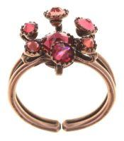 Konplott Alien Caviar Ring Forever Red 5450543895772