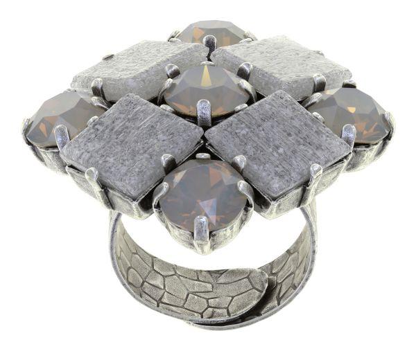 Konplott Cleo Ring Noblesse Grey in grau 5450543912042