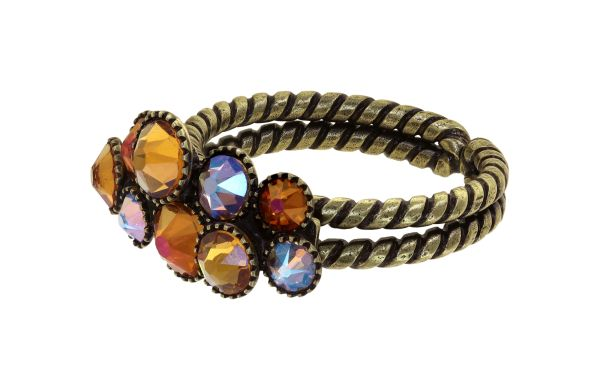 Konplott Water Cascade Ring in Amber 5450543938578