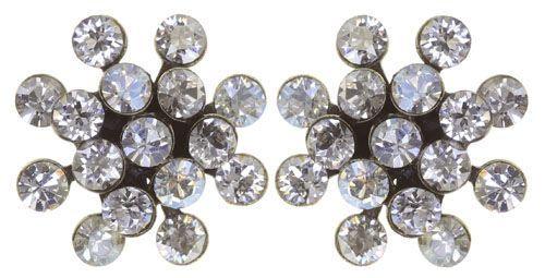 Konplott Magic Fireball Mini Ohrring Ohrstecker Crystalline White 5450543895338
