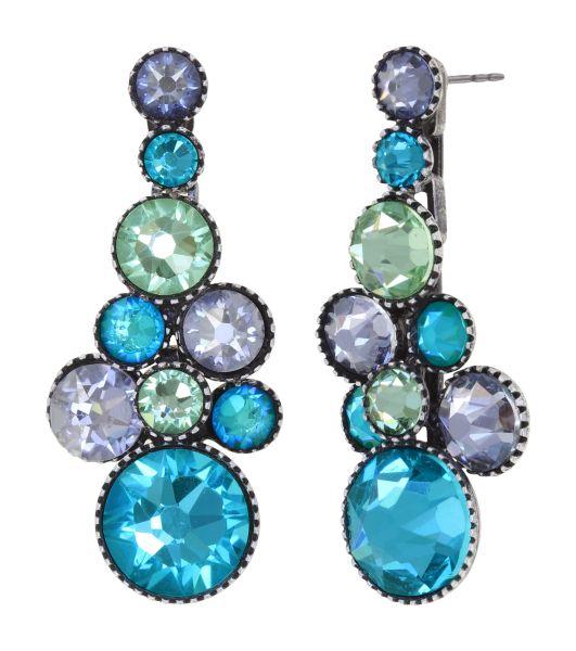 Konplott Water Cascade Ohrhänger in Minty Fresh blau/grün 5450543907246