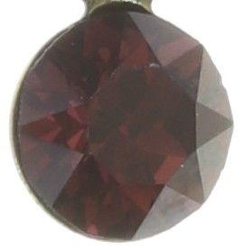 Konplott Magic Fireball Halskette mit Anhänger hellrot/dunkelrot mini 5450543683195