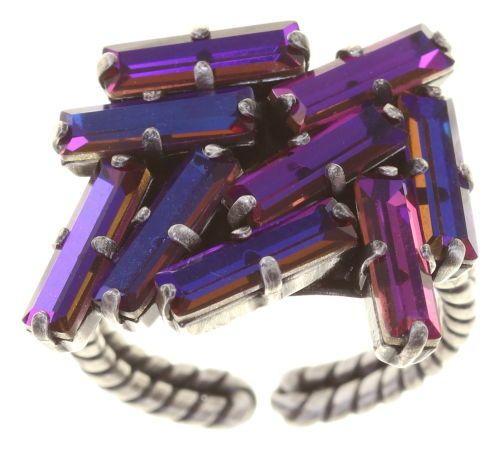 Konplott Jumping Baguette Ring Fire Violet 5450543862316