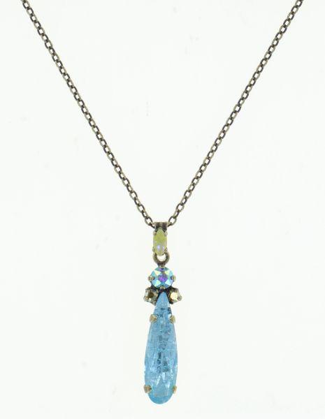 Konplott Abegail Halskette Water Greens in blau/gelb 5450543916866