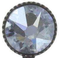 Vorschau: Konplott Studio 54 Ohrring in hellblau Silberfarben Größe M 5450543748405